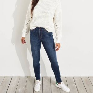 Classic Stretch High-Rise Super Skinny Jeans